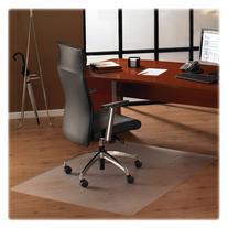 "Floortex Hardwood Floor Chair Mat - 53"" Length x 48"" Width"