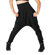 Adult Harem Pants,N8639BLKXL,Black,XL