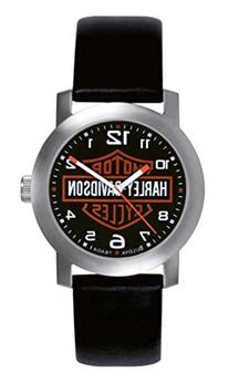 Harley Davidson Bulova Mens's Bar & Shield Logo Watch. Tried