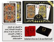 Da Vinci Harmony, Italian 100% Plastic Playing Cards, 2-Deck