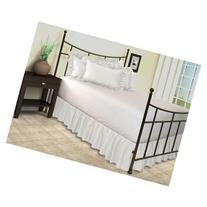 Harmony Lane Ruffled Bed Skirt with Split Corners - Queen,