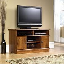 Sauder Harvest Mill Panel TV Stand, Abbey Oak Finish