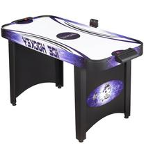 Hathaway Hat Trick Air Hockey Table, Black/Blue, 4-Feet