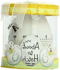 """Kate Aspen""""About To Hatch"""" Kitchen Egg Timer in Showcase"""