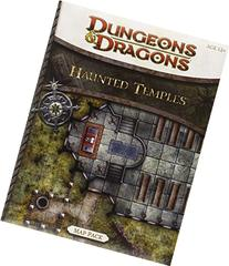 Haunted Temples Map Pack: A 4th Edition Dungeons & Dragons