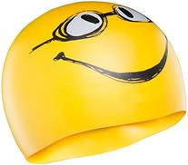 TYR Have a Nice Day Silicone Cap, Yellow