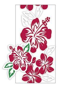 Hawaiian Candy Lei Making Kit - 5 Red Hibiscus Lei Kits