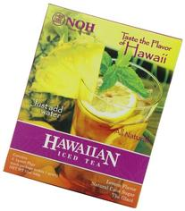 NOH Foods of Hawaii Hawaiian Iced Tea 4-Count, 3 Ounce Units