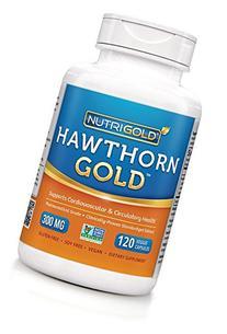 Nutrigold Hawthorn Gold , 300 mg, 90 veggie capsules