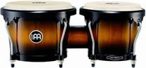 Meinl Percussion HB100VSB Standard Size Rubber Wood Bongos