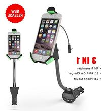 EnergyPal HC27K Universal Car Mount Holder With 3.1 Amp USB