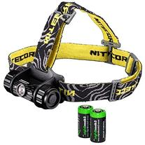 Nitecore HC50 565 Lumens CREE XM-L2 LED headlamp with dual