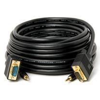 C&E Premium 25 Feet HD15 M/M VGA/SVGA/UXGA with Audio