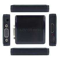 Optimal Shop HDMI to VGA Converter+3.5mm Stereo Audio