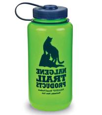 Nalgene HDPE Widemouth Loop Top 1 Quart BPA Free Bottle