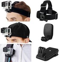CamKix Head and Backpack Mount Bundle for GoPro Hero 5,