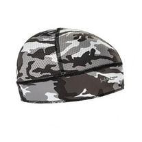 Halo Headband Skull Cap - Camo Gray