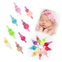 ROEWELL Baby's Headbands Girl's Cute Hair Bows Hair bands