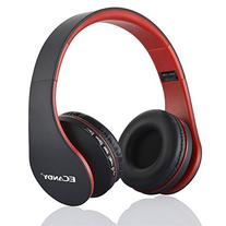Ecandy Bluetooth Headphones Over-ear Stereo Wireless + Wired