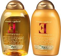 OGX Healing Plus Vitamin E Shampoo and Vitamin E Conditioner