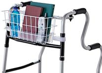 HealthSmart Walker Basket, Universal Basket For Walker With