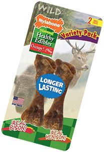 Nylabone 2 Count Healthy Edibles Small Wild Variety Venison