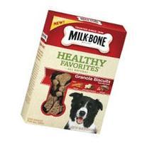 Milk-Bone Healthy Favorites Granola Dog Treats With Real
