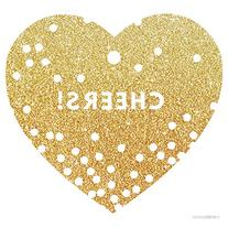 Andaz Press Heart Gift Tags, Modern Style, Cheers!, Printed