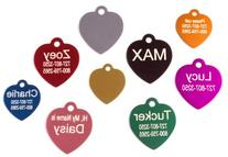 Providence Engraving Heart Shaped Pet ID Tag, Regular
