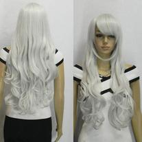 AGPtek 33 inch Heat Resistant Curly Wavy Long Cosplay Wigs-