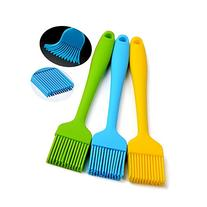 Silcony Heat Resistant Silicone Basting Pastry Brushes,