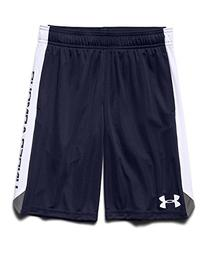 Under Armour Boy's Eliminator Shorts, Midnight Navy/White,