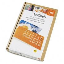 ** HeatSeal Laminating Pouches, 3 mil, 9 x 14 1/2, 100/Box