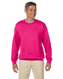 Gildan 7.75 oz. Heavy Blend 50/50 Fleece Crew>L HELICONIA