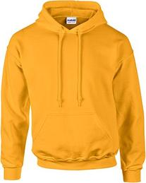 Gildan Heavy Blend Youth Hooded Sweatshirt, Gold , Small