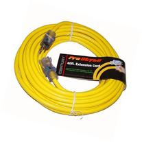 40ft Heavy Duty Electric Extension Power Cord 12 Gauge by