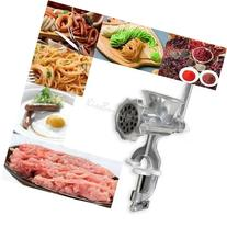 Heavy Duty Manual Meat Grinder Mincer Cast Iron Table Hand