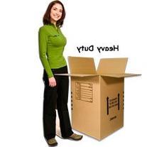 EcoBox Dish Barrel Heavy Duty Moving Box 18 x 18 x 28 Inches