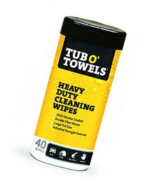 "Tub O Towels HeavyDuty 7"" x 8"" Size MultiSurface Cleaning"