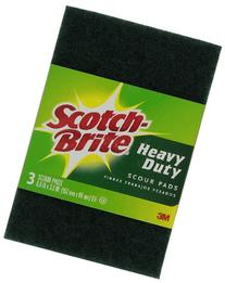 Scotch-Brite Heavy Duty Scour Pads, 3 ct