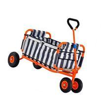 Heavy Duty Steel Folding Transport Wagon by Sandusky