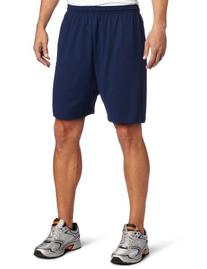 Soffe Men's Heavy Weight Jersey Short Purple Medium