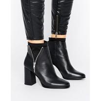 Miss Selfridge Heeled Sock Boot
