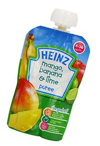Heinz Mango/ Banana and Lime Fruit Pouch 4-36 Months 100 g