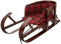 Lucky Bums Heirloom Collection Wooden Baby Boggan Sled with