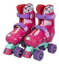 PlayWheels Hello Kitty Kids Classic Quad Roller Skates -