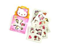 Boston America Hello Kitty Temporary Tattoos