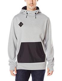 Burton Men's Hemlock Bonded Pullover Hoodie, X-Large,