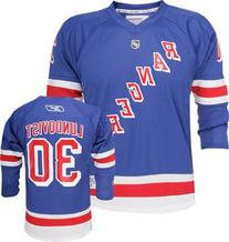Henrik Lundqvist New York Rangers Blue Home NHL Youth