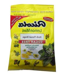 Ricola Herbal Throat Drops Lemon Mint Sugar Free 105 Drops
